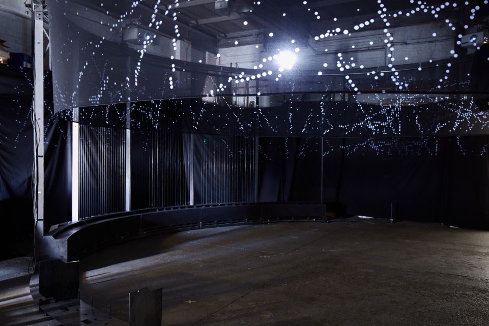 A Finetuned installation space entitled; Semiconductor Halo, Basel 2018